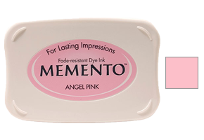 "This 3-3/4"" x 2-5/8"" stamp ink pad comes in angel pink and is excellent for use paper crafts. Acid free and fade-resistant. Ships free in 1-2 business days!"