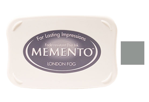 "This 3-3/4"" x 2-5/8"" stamp ink pad comes in London fog and is excellent for use paper crafts. Acid free and fade-resistant. Ships free in 1-2 business days!"