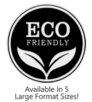 This large Round Eco-Friendly stock message stamp comes on a wood stamp and in a choice of 5 sizes. Separate ink pad required. Orders over $45 ship free!