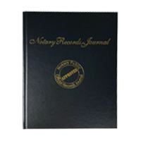 This Notary Journal Record Book holds 219 entries and adheres to state regulations. Orders over $25 ship free!