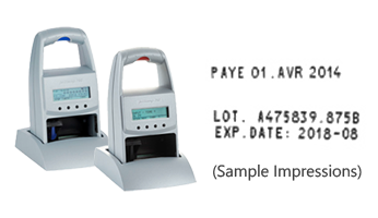 The jetStamp 790/792 stamp prints up to 2 lines, 20 characters per line on porous and non-porous surfaces. Replaceable cartridges. Orders over $25 ship free!