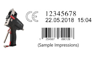 The Speed-i-Marker 940 stamp prints single or multilines lines, graphics and barcodes. It's portable & lightweight design makes this perfect for on the go use.