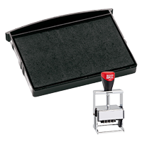 This Cosco replacement pad comes in your choice of 11 ink colors! Fits the Cosco model 3660 self-inking stamp. Orders over $45 ship free!