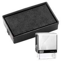 This Cosco replacement pad comes in your choice of 11 ink colors! Fits the Cosco model 10 self-inking stamp. Orders over $45 ship free!