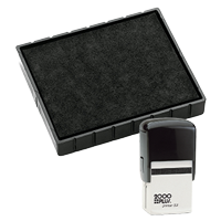 This Cosco replacement pad comes in your choice of 11 ink colors! Fits the Cosco model 53 self-inking stamp. Orders over $45 ship free!