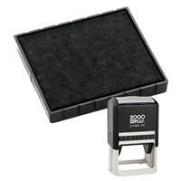 This Cosco replacement pad comes in your choice of 11 ink colors! Fits the Cosco model 54 self-inking stamp. Orders over $45 ship free!
