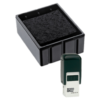 This Cosco replacement pad comes in your choice of 11 ink colors! Fits the Cosco model Q12 self-inking stamp. Orders over $45 ship free!