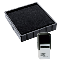 This Cosco replacement pad comes in your choice of 11 ink colors! Fits the Cosco model Q30 self-inking stamp. Orders over $45 ship free!