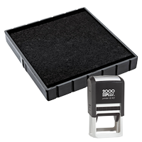 This Cosco replacement pad comes in your choice of 11 ink colors! Fits the Cosco model Q43 self-inking stamp. Orders over $45 ship free!