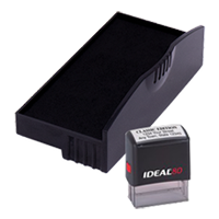Ideal R-80 replacement pad that fits the Ideal 80 self-inking stamp. 11 ink colors to choose from with free shipping on orders over $45.
