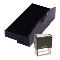 Ideal R-300 replacement pad that fits the Ideal 300 self-inking stamp. 11 ink colors to choose from with free shipping on orders over $45.