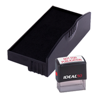 Ideal R-50 replacement pad that fits the Ideal 50 self-inking stamp. 11 ink colors to choose from with free shipping on orders over $45.