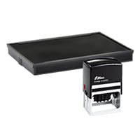 Ideal R-5860 replacement pad that fits the Ideal 5860D self-inking stamp. 11 ink colors to choose from with free shipping on orders over $45.