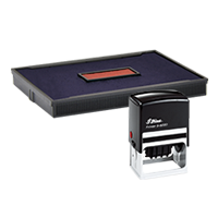 Ideal R-5860/2 replacement pad that fits the Ideal 5860D self-inking stamp. 11 ink colors to choose from with free shipping on orders over $45.