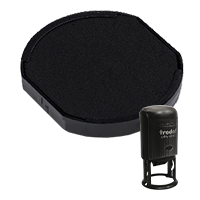 This Trodat 6/46045 replacement pad comes in your choice of 11 ink colors! Fits Trodat model 46045 self-inking stamp. Orders over $45 ship free!