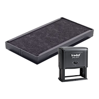 This Trodat 6/4931 replacement pad comes in your choice of 11 ink colors! Fits Trodat models 4931 and 4731 self-inking stamps. Orders over $45 ship free!