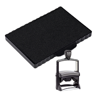 This Trodat 6/5211 2 color replacement pad comes in your choice of 11 ink colors! Fits Trodat model 54110 self-inking stamp. Orders over $45 ship free!
