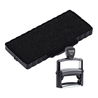 This Trodat 6/55 replacement pad comes in your choice of 11 ink colors! Fits Trodat model 5205 self-inking stamp. Orders over $45 ship free!