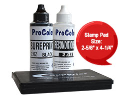 This professional fabric marking ink provides permanent, acid free fast drying impressions on most fabrics. Fast and free shipping on orders over $45!