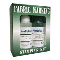 This professional fabric marking ink provides permanent, acid free fast drying impressions on most fabrics. Free shipping on orders over $25!