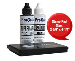 Quick drying, acid free, and smudge proof permanent ink for photographs. This ink is archival quality and will print a crisp, clean impression every time.