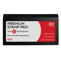 Cosco 2 Gel Stamp Pad In Red