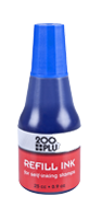 This 0.9 oz bottle of blue refill ink is used in all Cosco self-inking stamps. With a precision tip, application is easy & mess free. Orders over $10 ship free!