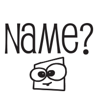 Name with silly face self-inking rubber stamp available in 4 sizes and 11 different ink colors. Refillable with Ideal ink. Free shipping on orders over $45.