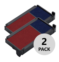 Offered in a pack of 2, these 2-colored Trodat replacement pads fit the 4912 office stamps and all Trodat stock stamps. Orders over $25 ships free!