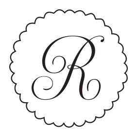 See your initial in an elegant script font in this monogram stamp and choose one of 11 different ink colors! Shop now and get free shipping over $25.