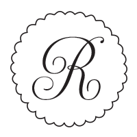 Customize this monogram initial stamp with your name, wedding initials, or company info in your choice of 11 ink colors! Shop now and get free shipping over $10.
