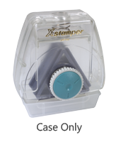 This Spin 'N Stamp case allows for up to three inserts, not included, and easily spins from one stamp to another in one location. Ships free in 4-5 business days.