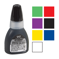 This Xstamper® Industrial Refill Ink is for F-series stamps only. Available in 8 vibrant colors. Order over $25 ship free.