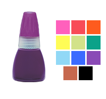 Genuine Xstamper 10mL refill ink for Xstamper N-series pre-inked & Cosco HD stamps. Available in 11 ink colors. Fast & free shipping on orders over $45!