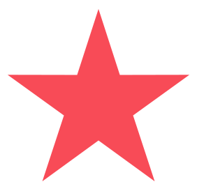 "Star pre-inked rubber stamp available in red ink with an impression size of 5/8"" in diameter. Get free shipping on online orders over $25."