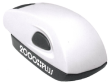 Customize free with text or your logo in your choice of 11 ink colors.  Ships in 1-2 business days and free shipping on orders over $15.  Top quality Cosco white stamp mouse self-inking