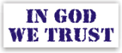 In God We Trust Rubber Stamps. Don't Tread On Me Rubber Stamps. Patriotic and religious rubber stamps for less. Secure order online. Knockout Rubber Stamp Champ prices. Free Shipping.