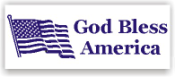 Show your patriotism and stamp outgoing mail and packages with one of our patriotic self-inking God Bless America 3 rubber stamps in your choice of 11 ink colors. Shop now and get free shipping over $10. Several styles to choose from.