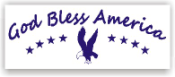 Show your patriotism and stamp outgoing mail and packages with one of our patriotic self-inking God Bless America 6 rubber stamps in your choice of 11 ink colors. Shop now and get free shipping over $10. Several styles to choose from.