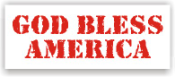 Show your patriotism and stamp outgoing mail and packages with one of our patriotic self-inking God Bless America 8 rubber stamps in your choice of 11 ink colors. Shop now and get free shipping over $10. Several styles to choose from.