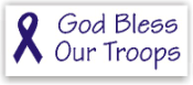 Show your patriotism and stamp outgoing mail and packages with one of our patriotic self-inking God Bless Our Troops 3 rubber stamps in your choice of 11 ink colors. Shop now and get free shipping over $10. Several styles to choose from.