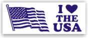 Show your patriotism and stamp outgoing mail and packages with one of our patriotic self-inking I Love The USA 2 rubber stamps in your choice of 11 ink colors. Shop now and get free shipping over $10. Several styles to choose from.