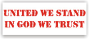 United We Stand Rubber Stamps. Don't Tread On Me Rubber Stamps. Patriotic and religious rubber stamps for less. Secure order online. Knockout Rubber Stamp Champ prices. Free Shipping.