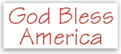 Show your patriotism and stamp outgoing mail and packages with one of our patriotic self-inking God Bless America 1 rubber stamps in your choice of 11 ink colors. Shop now and get free shipping over $10. Several styles to choose from.