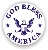 Show your patriotism and stamp outgoing mail and packages with one of our patriotic self-inking God Bless America 9 rubber stamps in your choice of 11 ink colors. Shop now and get free shipping over $10. Several styles to choose from.