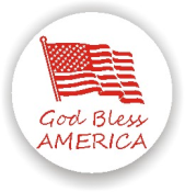 Show your patriotism and stamp outgoing mail and packages with one of our patriotic self-inking God Bless America 11 rubber stamps in your choice of 11 ink colors. Shop now and get free shipping over $10. Several styles to choose from.