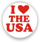 Show your patriotism and stamp outgoing mail and packages with one of our patriotic self-inking I Love The USA 1 rubber stamps in your choice of 11 ink colors. Shop now and get free shipping over $10. Several styles to choose from.