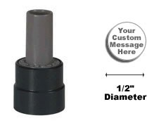 Xstamper® N60 Pre-Inked Round Stamp, Pencil Top