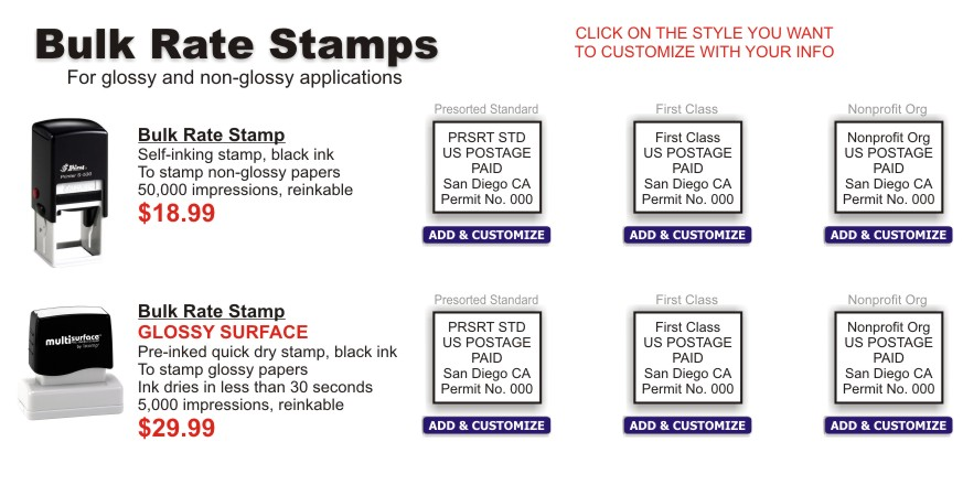 Bulk Rate Rubber Stamp Rubber Stamp Champ