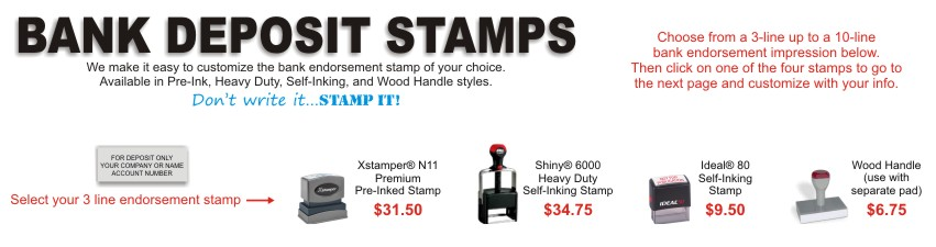 Imagine The Ease Of Simply Pressing Down Your Stamp With Information Ready To Go A Customized